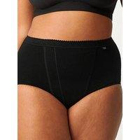 Sloggi 2 Pack Control Maxi Brief, Black, Size 18, Women