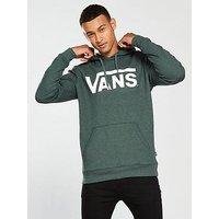 Vans Classic Pullover Hoodie, Darkest Spruce Heather, Size Xs, Men