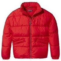 Tommy Hilfiger Girls Padded Jacket, Red, Size 10 Years, Women