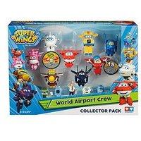 Super Wings World Airport Crew Collector Pack - New Season 2 Characters, One Colour