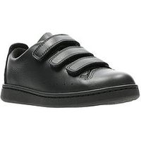 Clarks Nate Maze Infant Shoe, Black, Size 10 Younger