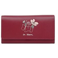 Radley Radley In Bloom Large Flapover Matinee Purse, Claret, Women
