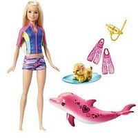 Barbie Dolphin Magic Snorkel Fun Barbie