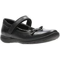 Clarks Venture Star Infant Shoe, Black, Size 11.5 Younger