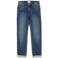 Timberland Boys Slim Fit Stretch Jeans, Denim, Size Age: 12 Years