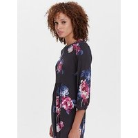 Joules Alison Woven Dress With Pockets, Floral, Size 8, Women