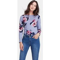 Joules Joules Harbour Print Long Sleeved Jersey Top, Print, Size 8, Women