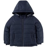 BOSS Boys Padded Jacket, Navy, Size Age: 6 Years