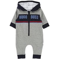 BOSS Baby Boys All In One, Grey Marl, Size 6 Months
