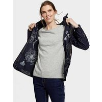 Joules Newdale Quilted Coat, Marine Navy, Size 10, Women