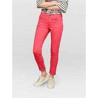Joules Monroe Skinny Stretch Jean - Raspberry, Raspberry, Size 8, Women