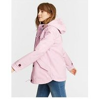 Joules Coast Waterproof Jacket - Lilac, Lilac, Size 16, Women