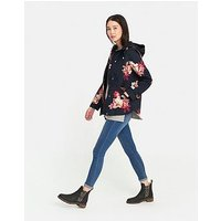 Joules Coast Hooded Jacket - Printed, Print, Size 10, Women