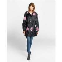 Joules Golightly Waterproof Jacket - Navy, Navy, Size 10, Women