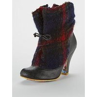 Irregular Choice Irregular Choice Marshmallow Mountain Ankle Boot, Black, Size 7, Women