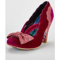 Irregular Choice Irregular Choice Curtain Call Heeled Shoe, Pink, Size 9, Women