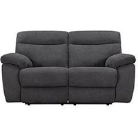 Violino New Oxton Fabric 2 Seater Manual Recliner Sofa