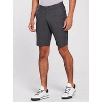 UNDER ARMOUR Golf Showdown Vented Tapered Shorts, Black, Size 32, Men