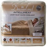 Product photograph showing Dreamland Intelliheat Velvet Sherpa Heated Throw