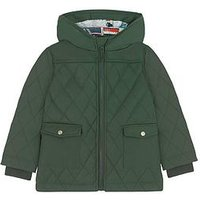 Cath Kidston Boys Quilted Coat, Sage, Size Age: 3-4 Years