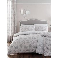 Catherine Lansfield Charlotte Duvet Cover And Pillowcase Set