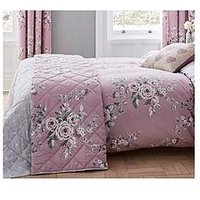 Product photograph showing Catherine Lansfield Canterbury Duvet Cover Set