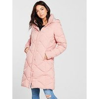 THE NORTH FACE Miss Metro Parka II - Misty Rose , Misty Rose, Size M, Women
