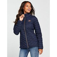 THE NORTH FACE Thermoball™ Full Zip Jacket - Navy, Navy/Copper, Size S, Women