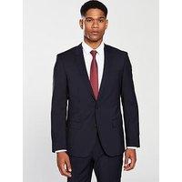 Hugo by Hugo Boss Slim Fit Suit Jacket, Dark Blue, Size 48, Length Regular, Men