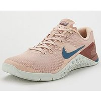 Nike Metcon 4 - Pink/White , Pink/White, Size 7, Women