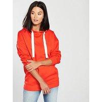 V by Very Oversized Hoodie - Orange, Orange, Size 10, Women