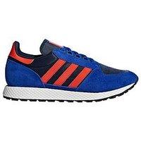 adidas Originals Forest Grove (Oregon), Blue/Red, Size 10, Men