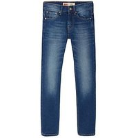 Levi's Boys 512 Slim Fit Tapered Leg Mid Wash Jean, Denim, Size Age: 5 Years