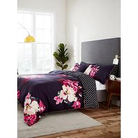 Joules Winter Bloom 100% Cotton Percale Duvet Cover