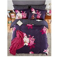 Joules Winter Bloom 100% Cotton Percale Oxford Pillowcase