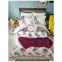 Joules Harvest Garden 100% Cotton Percale Duvet Cover