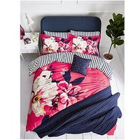 Joules Bircham Bloom 100% Cotton Percale Duvet Cover