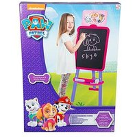 Paw Patrol Paw Patrol Girls Double Sided Floor Standing Easel