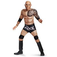 Wwe The Rock Classic Muscle Costume