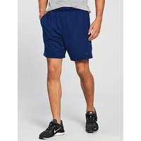 Nike Dry Fleece Training Shorts, Blue Void, Size L, Men
