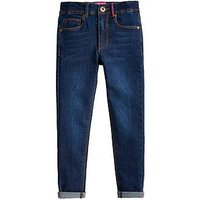 Joules Girls Linnet Denim Jean, Dark Denim, Size Age: 7-8 Years, Women