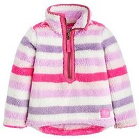 Joules Toddler Girls Merridie Half Zip Sweater, Multi, Size Age: 3 Years, Women