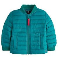 Joules Baby Boys Reece Soft Padded Jacket, Green, Size 9-12 Months