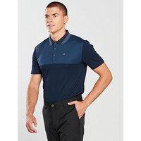 Calvin Klein Golf 39 Street Polo, Navy/Blue, Size L, Men
