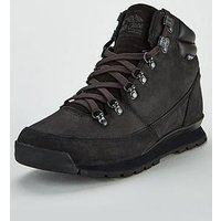 THE NORTH FACE Men's Back-to-Berkeley Redux Leather Boots, Black/Black/Black, Size 7, Men