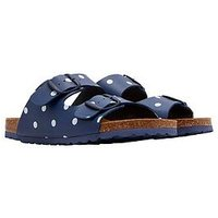 Joules Penley Flat Sandal - Navy, French Navy, Size 5, Women