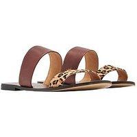 Joules Fenthorpe Flat Sandal - Tan, Tan, Size 4, Women