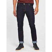 Farah Drake Stretch Slim Fit Jean, Rinse, Size 34, Inside Leg Regular, Men