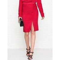 Gestuz Rosie Gathered Skirt - Red