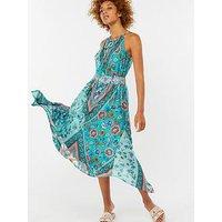 Monsoon Mariana Hanky Hem Dress - Print